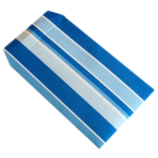 Blue Stripes Kraft Paper Envelope - Pack 50 unt
