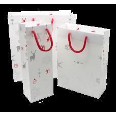 Paper Bag Couchê Christmas - Pack 25 unt