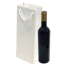 Paper Bag Gloss for bottles - Pack 25 unt