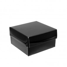 Black Mat Chromolux Box with cover - Pack 50 unt