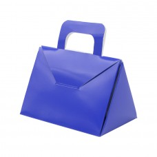 Blue Paperboard Suitcase Box - Pack 25 unt