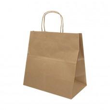 Paper Bag Take Away Kraft Brown- Pack 250 unt