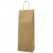 Twisted Handle Paper Bag Brown Kraft - Pack 25 unt
