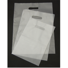 Die Cut PEHD Plastic Bag - Pack 100 unt