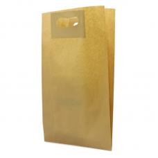 Die Cut Kraft Paper Bag - Pack 50 unt