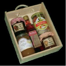 Gourmet Wooden Gift Box - Unit