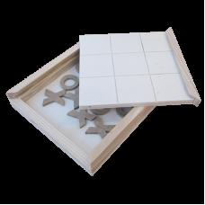 Tic Tac Toe Wooden Board - Unit