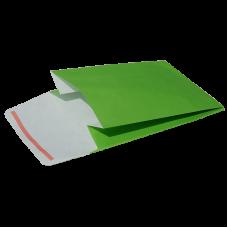 Green Kraft Paper Self-Adhesive Envelope - Pack 25 unt