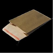 Gold Nat. Kraft Paper Self-Adhesive Envelope - Pack 25 unt