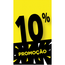 Discount Tag 10% - Pack 100 unt