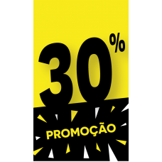 Discount Tag 30% - Pack 100 unt