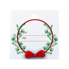 Christmas Square Tag - Pack 50 unt