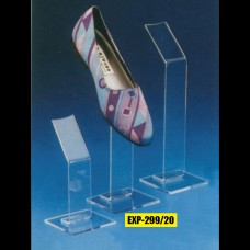 Acrylic Shoe Display Crystal - Unit