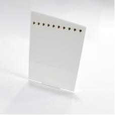 Bracelet Display 10 pieces 3mm White - Unit