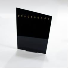 Bracelet Display 10 pieces 3mm Black - Unit