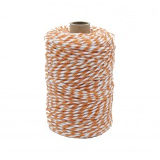 Orange/White Cotton Yarn - Unit