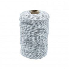 Grey/White Cotton Yarn - Unit