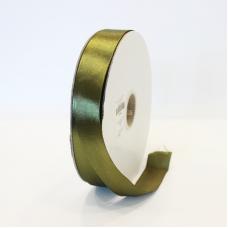 Olive Green Satin Ribbon - Unit