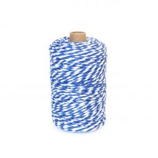 Blue/White Cotton Yarn - Unit