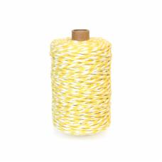 Yellow/White Cotton Yarn - Unit