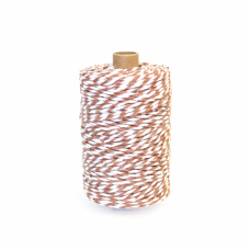 Brown/White Cotton Yarn - Unit