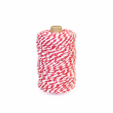 Red/White Cotton Yarn - Unit