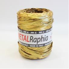 Metallic Gold Raphia Ribbon - Unit