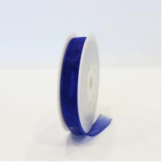 Dark Blue Organza Ribbon - Unit