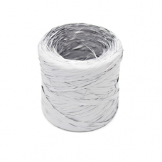 Silver Raphia Ribbon - Unit