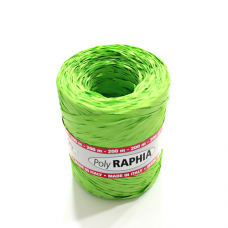 Green Raphia Ribbon - Unit