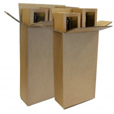 Bottle Shipping Boxes - Pack 10 unt