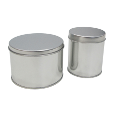 Metallic Rounded Can - Pack 10 unt
