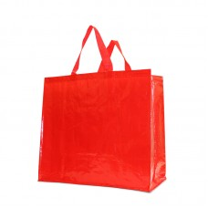 PP Woven Laminated Gloss Bag Red - Unit