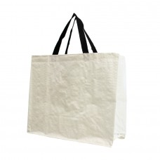 PP Woven Laminated Gloss Bag White - Unit