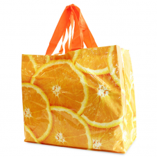 PP Woven Laminated Gloss Bag Oranges - Unit