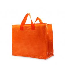 PP Woven Laminated Gloss Bag Orange - Unit
