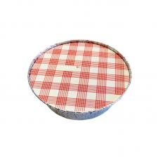 Aluminium Foil Food Container + Round Covers - 620ml Pack 100 unt