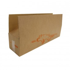 Kraft Cardboard box for roast pig - Pack 20 unt