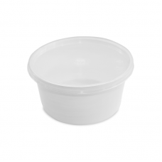 Soup Container + Cover - 450ml Pack 50 unt