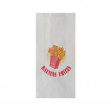 White Paper Sachet for french fries - Pack 1000 unt