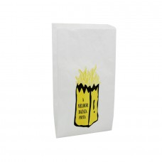 White Paper Sachet for rench Fries - Pack 10 kgs