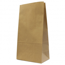SOS Kraft Paper Bag - Pack 50 unt