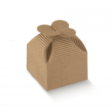 CardBoard Box with Flower - Pack 10 unt
