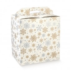 Gift Cube Box with Handle
