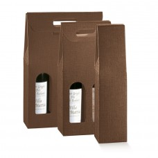 Bottle Box Seta Brown - 3 Bottles Pack 30 unt