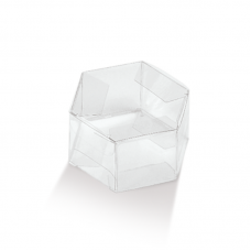 6 Sided PVC Box - Pack 10 unt