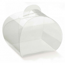 Clear PVC Box Tortina - Pack 10 unt