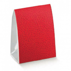 A Frame Clear PVC Box with Red Cover - Pack 10 unt