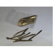 Gold Twist Ties - Pack 2000 unt