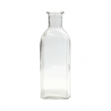 Square Glass Bottle - 500ml Unit